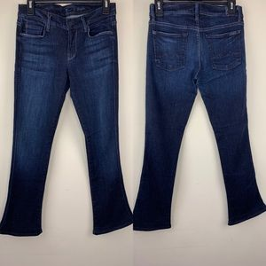 7 for all mankind kaylie dark wash bootcut jeans